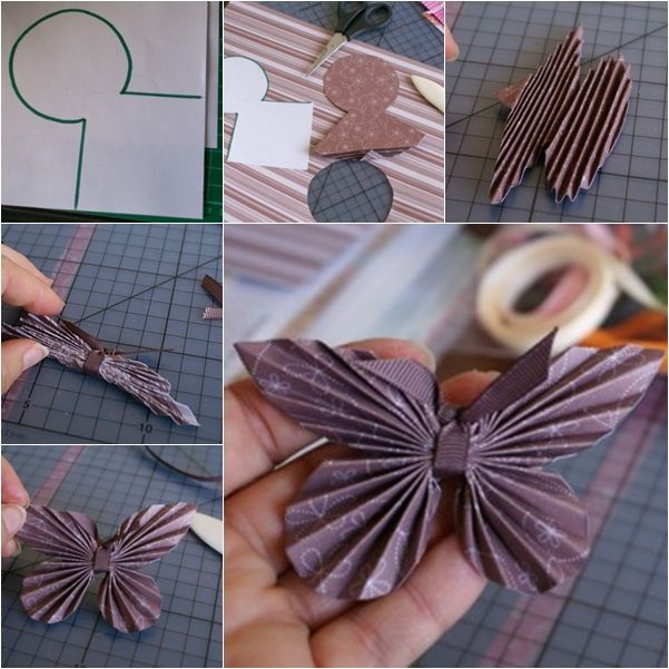 Tutorial Borboletas de papel - Vídeo tutorial