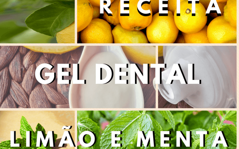 Receita de gel dental