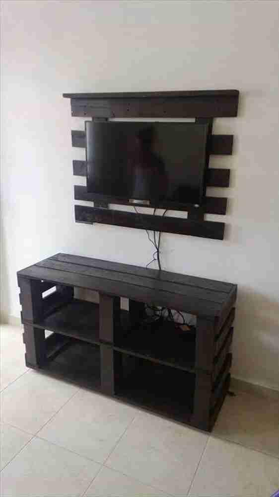 Painéis e móveis rústicos